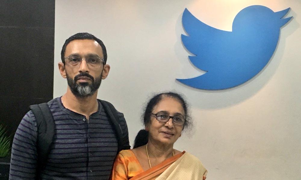 Santosh Alex at Twitter