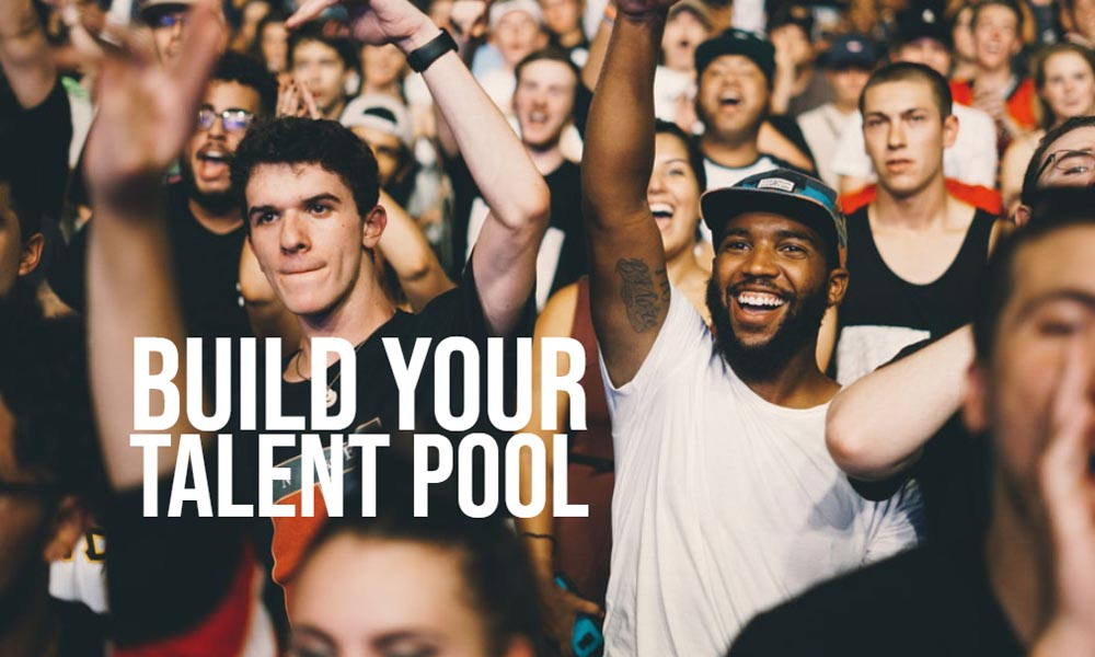 What does a talent pool mean